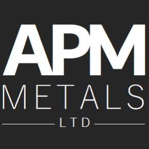 APM Metals black logo