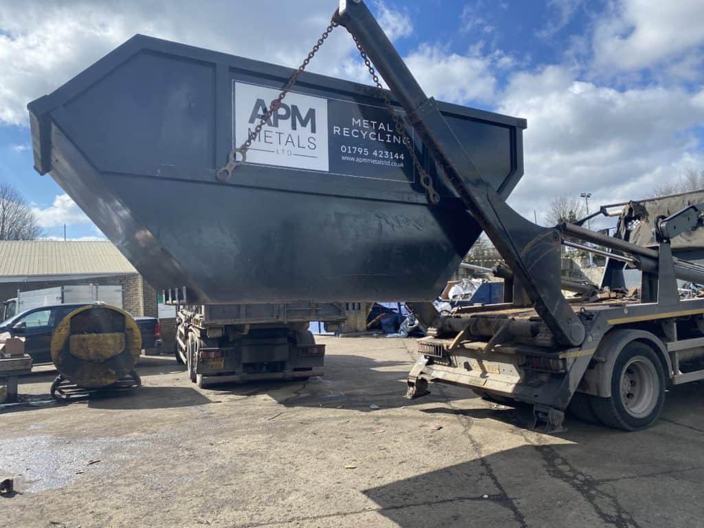 scrap metal skip hire sittingbourne